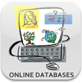 an icon of online databases