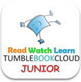 an icon of tumble books cloud junior
